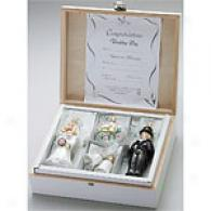 Inge Glas Wedding Day Ornament Gift Set