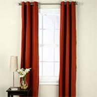 Insulated Cotton Rich Grommet Top Window Panel Set
