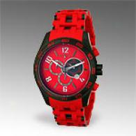 Invicta Sea Spider Red Chronograph Watch