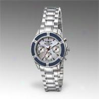 Invicta Womens Stainless Steel Multifunction Watch