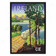 Ireland By Cie Framed Print
