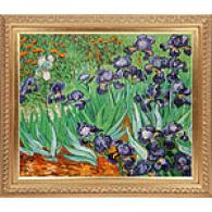 Irises Framed Oil Painting On Canvas By Van Gogg
