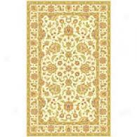 Isabella Ivory Tabriz Wool Rug