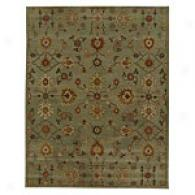 Iskon Fog Green Hand Tufted Wool Rug