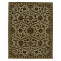 Iskon Gold Hand Tufted Wool Rug