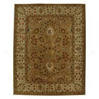 Iskon Wheat & Light Gold Hand Tufted Wool Rug