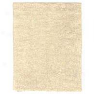 Ivory Pure Wool Hand-tufted Area Rug