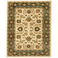 Ivory & Slate Traditional Area Rug