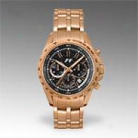 Jacques Lemans F1 Gold Tone Chronograph Watch