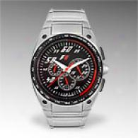 Jacques Lemans F1 Steel Chronogrph Watch
