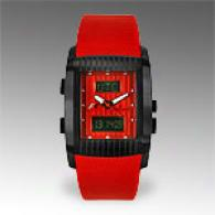 Jacques Lemans F1/utc Analog Digital Red Watch