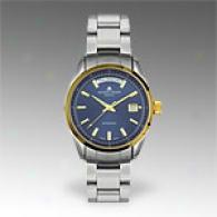 Jacques Lemans Gneve Two Tone Automatic Watch