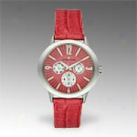 Jacques Lemans La Passion Leather Watch