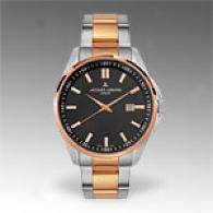 Jacques Lemans Tdmpofa Rose Goldplated Steel Watch