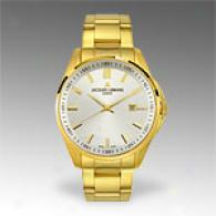 Jacques Lemans Tempora Series Gold-plated Watch