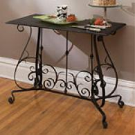 Jardin Botanique Black Metal Sofa Table