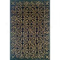 Java Collection Black Rug