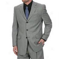 Joe By Joseph Abboud 3 Button Grey Suit