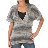 Joseph A. V-neck Space Die Sweater Vest