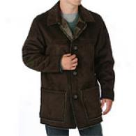 Joseph Abboud Faux Shearling Car Coat