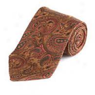 Joseph Abboud Multicolor Paisley Silk Tie