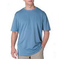 Joseph Abboud Silk And Cotton Crew Neck Shirt