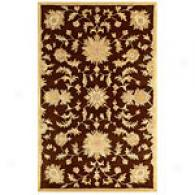 Joyce Collection Brown Hand Tufted Wool Rug