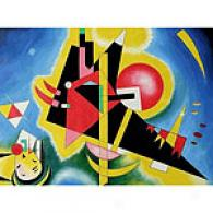 Kandinsky Im Blau 36in X 48in Oil Painting