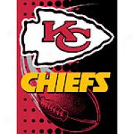 Kansas City Chiefs 60in X 80in Throw