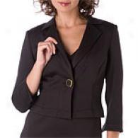 Kay Unger Blac Scuba Jacket