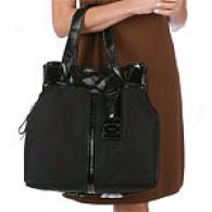 Kenneth Cole Ny Pull Together Black Tote