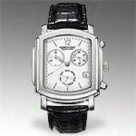 Kenneth Cole Reaction Mene Leather Silver Watch
