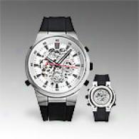 Kenneth Cole Reaction Mens Exposed Automatic Watch