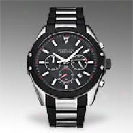 Kenneth Cole Reaction Mens Pvd Coated Steel Watch