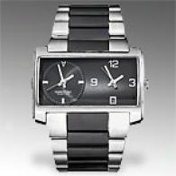 Kenneth Cole Reaction Men's Two Clock Watch