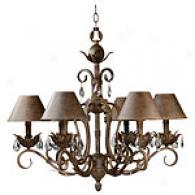 Kenroy Home Prelude 6 Light Chandelier