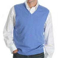 Kinross 100% Cashmere Pullover Sweater Vest