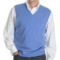 Kinross 100% Cashmere Pullover Sweater Vest