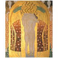 Klimt A Kiss For The Whole World Canvas Newspaper