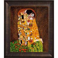 Klimt TheK iss Framed Oil Painting