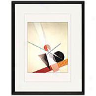 Komposition Vii Framed Print Along Moholy-nagy