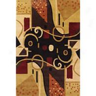 Lama Abstract Wool Rug