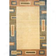 Lama Ckllection Green Rug