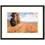 Landscape Closely related Giverny Framed Print By Monnet