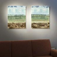 Landscape Set Of 2 16in X 20in Canvas Prints