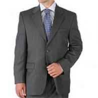 Lauren Grey Herringbone Weave 2 Button Suit