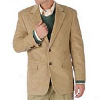 Lauren Khaki Corduroy Cotton 2 Button Sportcoat