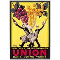Les Vins Selectionnes Union Framed Poster