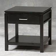 Linon Home Sugton Black End Table