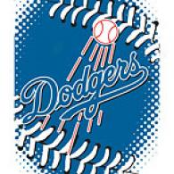 Los Angeles Dodgers 60 X 80 Baseball Throw